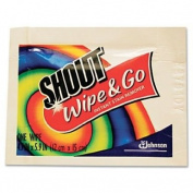 JohnsonDiversey Products - Shout Instant Stain Remover Wipes, Individually Wrapped, 80/CT - Sold as 1 CT - Wipes provide convenient, portable, instant stain treatment and removal. Ideal for clothing, carpet and auto interiors. Special stain-fighting in ..