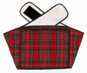 Hotties Soothing Backwrap Microwaveable Heat Wrap For The Relief Of Lower Back Pain - Red Tartan