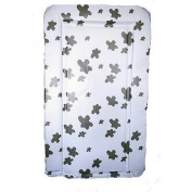 Cow Print Changing Mat in Black and White