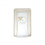 Baa Baa Black Sheep Baby GaGa Changing Mat in White and Beige