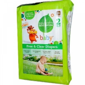 Baby, Free & Clear Nappies, Size 2, 5.4-8.2kg, 36 Nappies