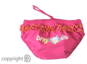 Bright Bots Swim Nappy Pink size 3-6 months with UPF50+ sun protection