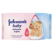 Johnsons Baby Wipes 6 x 54 Pack