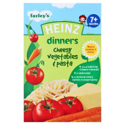 Heinz 7 Month Cheesy Vegetable Pasta Packet 100g
