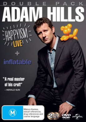 Adam Hills: Double Pack (Adam Hills: Happyism - Live / Adam Hills: Inflatable)