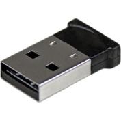 StarTech.com 50m 160-Feet Class 1 EDR Wireless Mini USB Bluetooth 4.0 Dongle Adapter