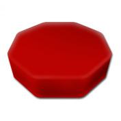 Senseez Vibrating Pillow, Red, Octagon