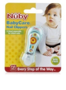 Nuby Baby Care Nail Clippers, Colours may vary