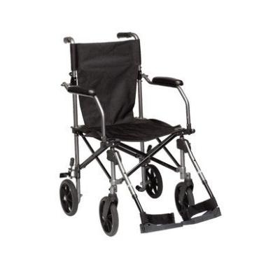 Drive Medical TC005GY Travelite Transport Wheelchair