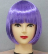 New Womens Disco Clown Bobo Short Straight Hair Full Wigs Cosplay Party Costume 8 Colours