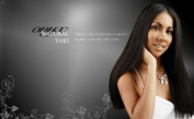 ONYX, 100% Elite Human Hair, Natural Essence Yaki, Affiliated with Black Diamond, 25cm , Colour #1 Jet Black