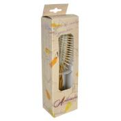 Fuchs Child/ Adult Toothbrushes Hairbrush Olivewood Rectangle Wood Pins 5118, 1 Unit