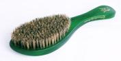 360 Emerald Green Crown Wave Brush/ Med. 100% Boar Bristle