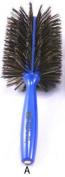 Italian Ariel Blue Brushes 3ME126 8.9cm