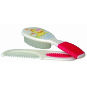 Nuby Comb and Brush Set - Case Pack 48 SKU-PAS782304