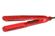 Corioliss Pro V Red Leopard Tourmaline Ceramic Flat Iron / Hair Straightener (3.2cm ) - COPVRL