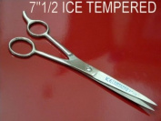 19cm ICE Tempered Hair Stylists & Barbers Cutting Scissors Shears RI532D