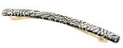 France Luxe Long and Skinny Barrette - Opera Silver