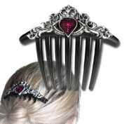 Claddagh Hair Comb Gothic Hair Accessories Alchemy Alternative Lifestyle