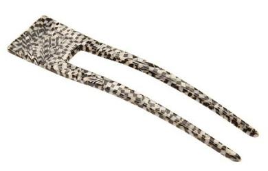 France Luxe Delicate Chignon Pin - Opera Silver