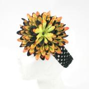 Large Flower on Crochet Headband