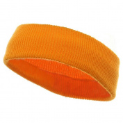 Head Bands (wide)-Yellow