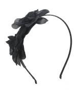 Girls Double Flower Headband Hairband