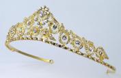 Regal Bridal Wedding Tiara of Austrian Rhinestones for Wedding, Prom, Quinceañera or Other Special Events #82F8gd