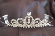 Beautiful Bridal Wedding Tiara Crown with Crystal Party Accessories DH1072