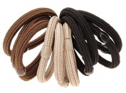 L. Erickson Solid Stretch Pony 10-Pack
