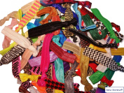 No Crease Hair Ties - 50 Pack (Prints and Solids) By Kenz Laurenz