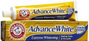 Arm & Hammer Advance White Toothpaste, Fluoride, Anticavity, Extreme Whitening, Baking Soda & Peroxide, Fresh Mint Flavour 180ml