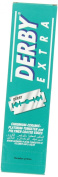 Derby Extra Double Edge Safety Razor Blades - Pack of 100 Blades