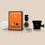 Van Der Hagen Men's Luxury, Shave Set, **BONUS**, set includes TWO full size 100ml scented soaps
