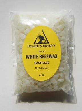 White Beeswax Bees Wax Organic Pastilles Beards Pure 60ml