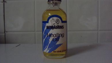 Benjamins Healing Oil - 60ml