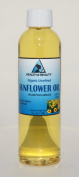 Sunflower Oil Organic Carrier Cold Pressed Unrefined Pure 120ml