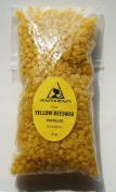 Yellow Beeswax Bees Wax Organic Pastilles Beards Pure 240ml