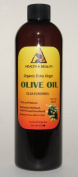 Olive Oil Extra Virgin Organic Carrier Cold Pressed Pure 350ml