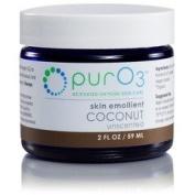 Ozonated Coconut Oil Skin Emollient PurO3 60ml Cream