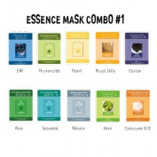 Essence Mask Combo No.1 - 10 Different Kind Of MJ Mask Sheets