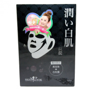 Sexy Look - Black Pearl with White Truffle Whitening Mask 10 pcs