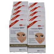 Anti-Wrinkle Gel Patches, 10 pack