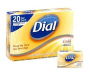 SCS Antibacterial Deodorant Soap, Gold - 120ml - 20 ct.