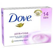 SCS Dove Beauty Bar, Pink - 120ml - 14 bars