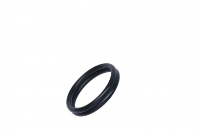 Rudy-Rings Black Silicone Cock Ring