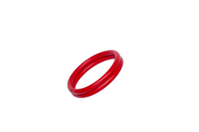 Rudy-Rings Red Silicone Cock Ring