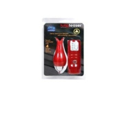 Golden Triangle Waterproof Tulip Teaser Climactic Clitoral Stimulator, Red
