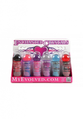 Evolved Enchanted Crystals Vibrators in Full Display Stand