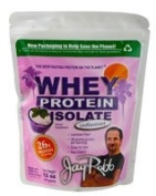 Jay Robb Whey Protein Isolate Unflavored -- 350ml